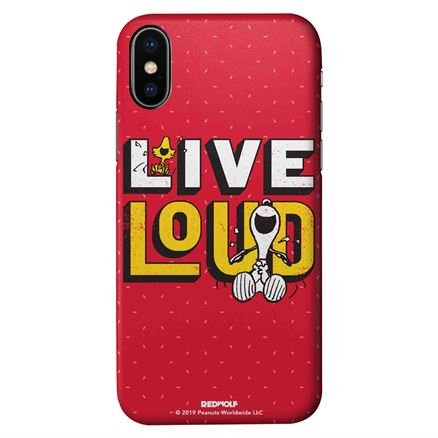 Live Loud - Peanuts Official Mobile Cover