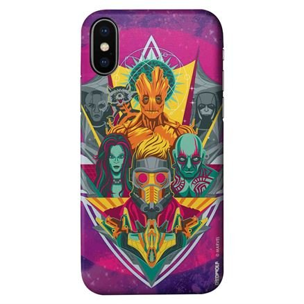 Retro Guardians Of The Galaxy - Marvel Official Mobile Cover