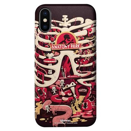Anatomy Park - Rick And Morty Official Mobile Cover