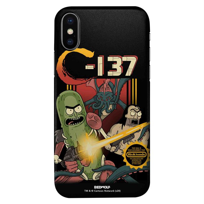 C-137 - Rick And Morty Official Mobile Cover