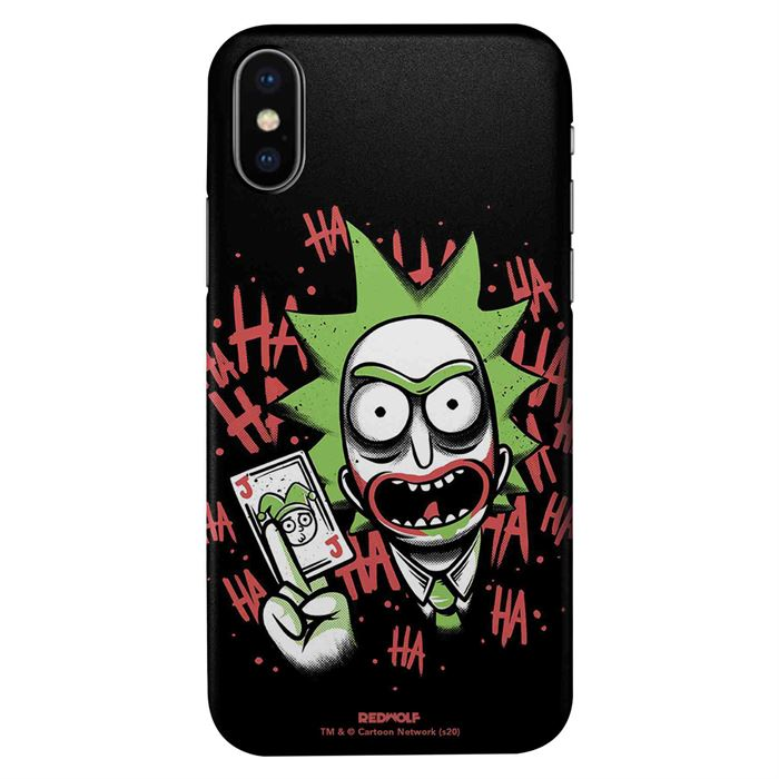 Joker Rick - Rick And Morty Official Mobile Cover
