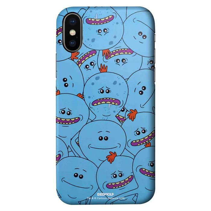 Meeseeks And Destroy - Rick And Morty Official Mobile Cover