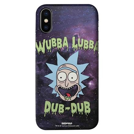 Wubba Lubba Space - Rick And Morty Official Mobile Cover