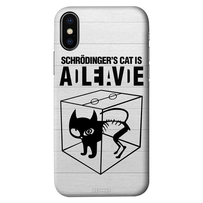 Schrodinger's Cat - Mobile Cover