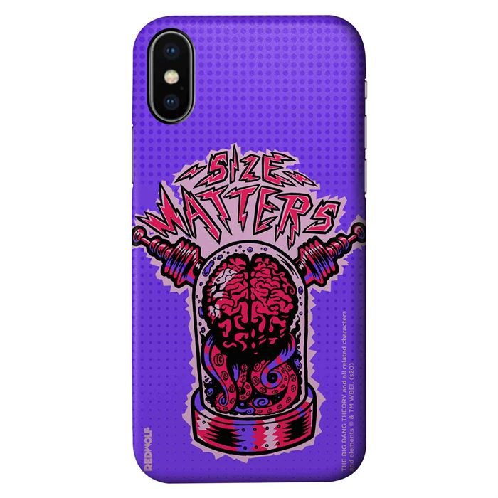 Size Matters - The Big Bang Theory Official Mobile Cover