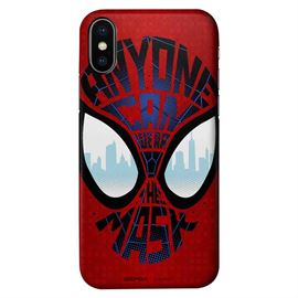 Anyone Can Wear The Mask - Marvel Official Mobile Cover