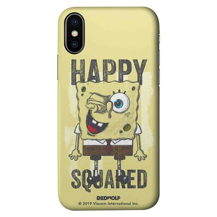 Happy Squared - SpongeBob SquarePants Official Mobile Cover