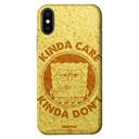 Kinda Care, Kinda Don't - SpongeBob SquarePants Official Mobile Cover