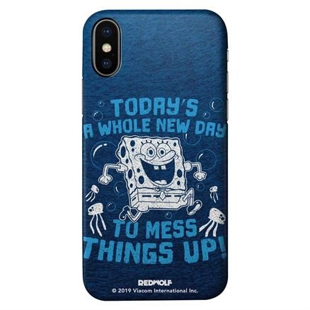 Mess Things Up - Spongebob Squarepants Official Mobile Cover