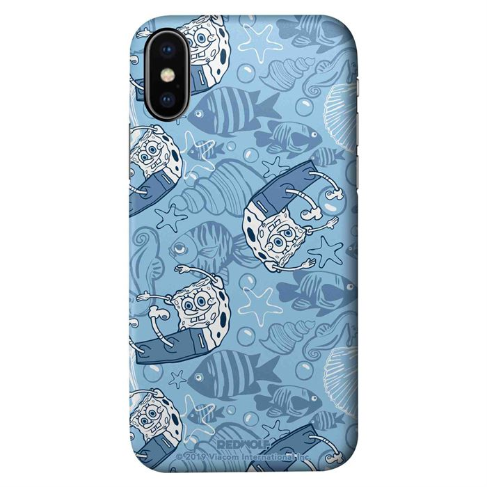 The Sea Is Blue - SpongeBob SquarePants Official Mobile Cover