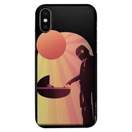 Mando And The Child - Star Wars Official Mobile Cover