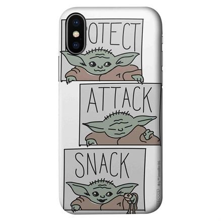 Protect, Attack, Snack - Star Wars Official Mobile Cover