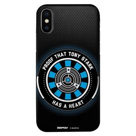 Tony Stark's Heart - Marvel Official Mobile Cover