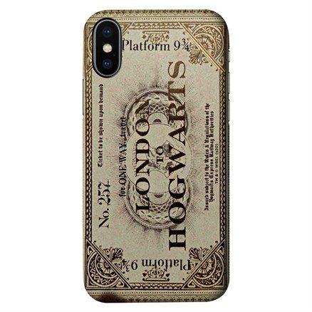 Hogwarts Express Ticket - Harry Potter Official Mobile Cover