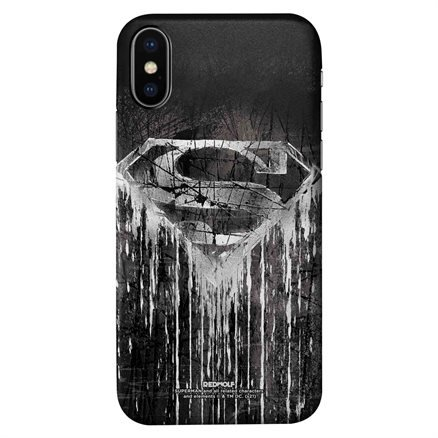 Superman: Grunged Logo - Superman Official Mobile Cover