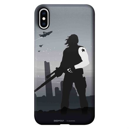 Winter Soldier Silhouette - Marvel Official Mobile Cover