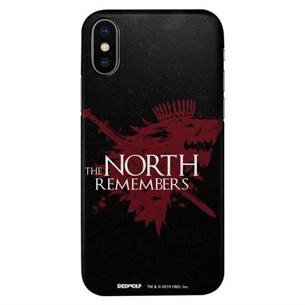 The North Remembers - Game Of Thrones Official Mobile Cover