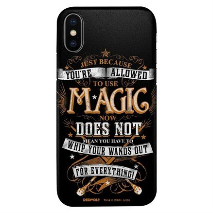 Whip Your Wands - Harry Potter Official Mobile Cover