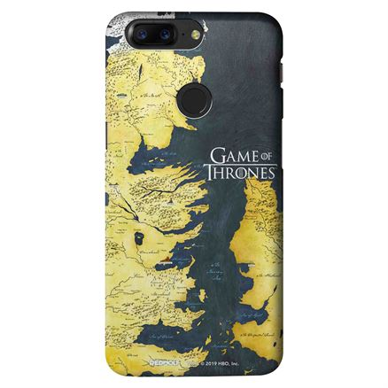 Westeros Map - Game Of Thrones Official Mobile Cover
