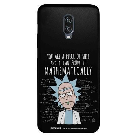 You Are A Piece Of Shit - Rick And Morty Official Mobile Cover
