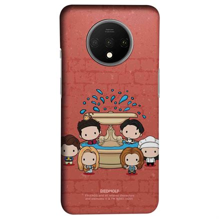 Friends Fountain - Friends Official Mobile Cover
