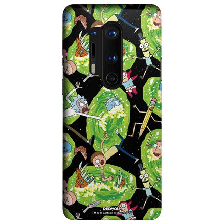 Portal Pattern - Rick And Morty Official Mobile Cover