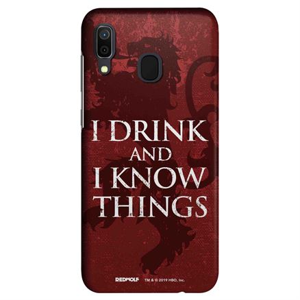 I Drink And I Know Things - Game Of Thrones Official Mobile Cover