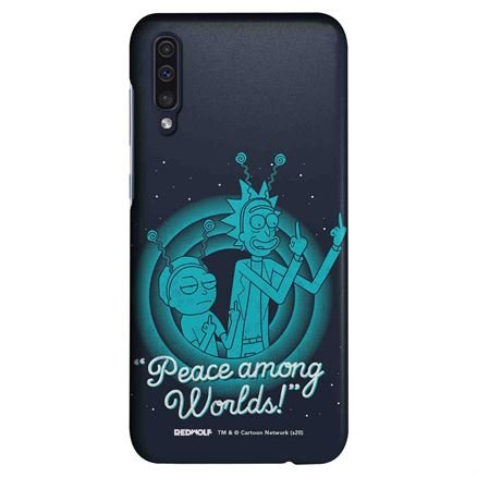 Peace Among Worlds - Rick And Morty Official Mobile Cover