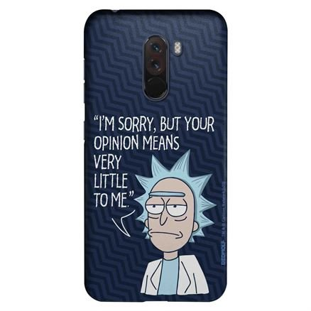 Rick's Opinion - Rick And Morty Official Mobile Cover