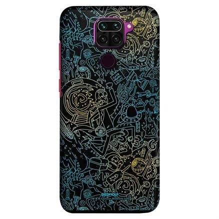 Wubba Lubba Pattern - Rick And Morty Official Mobile Cover
