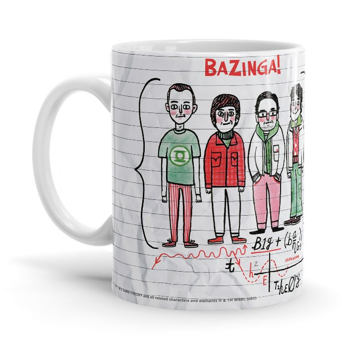 Bazinga Formula - The Big Bang Theory Official Mug