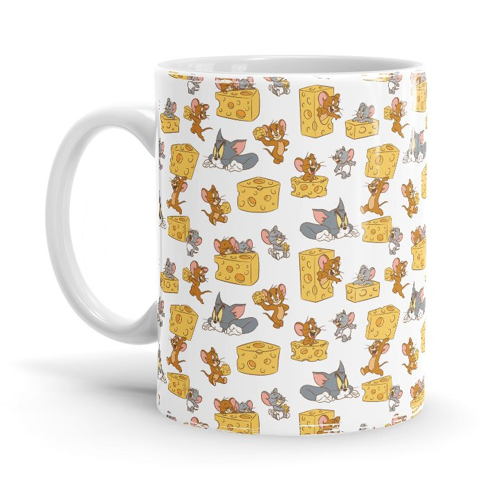 Chasing Cheese - Tom & Jerry Official Mug