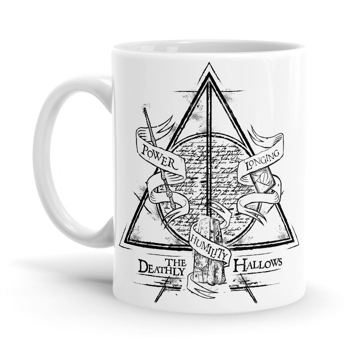 Deathly Hallows - Harry Potter Official Mug
