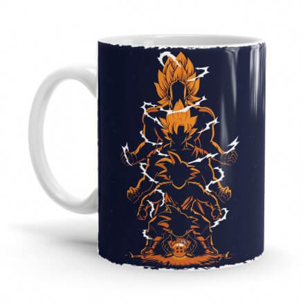 Saiyan Evolution - Dragon Ball Z Official Mug