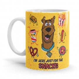 For The Snacks - Scooby Doo Official Mug