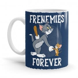 Frenemies Forever - Tom & Jerry Official Mug
