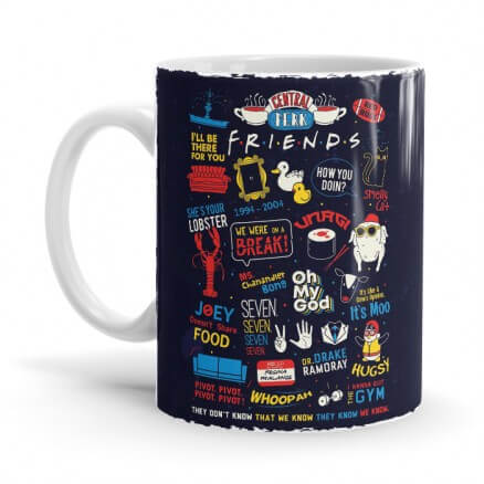 F.R.I.E.N.D.S Infographic - Friends Official Mug