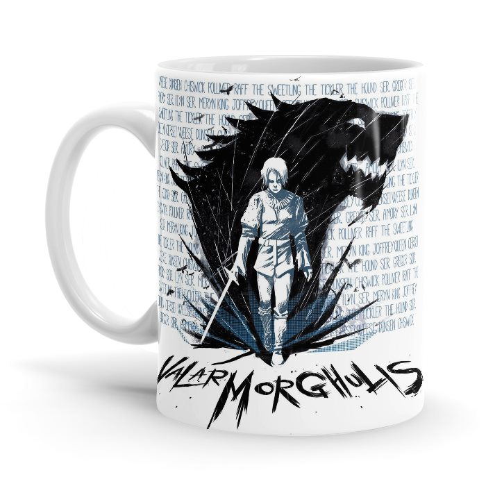 A Girl With No Name - Game Of Thrones Official Mug