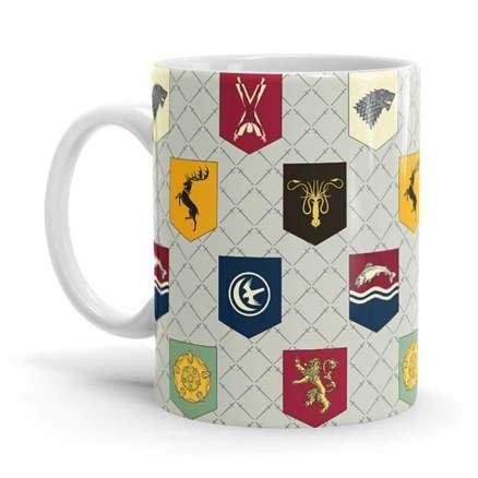 Banner Pattern - Game Of Thrones Official Mug