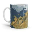 Cersei Map - Game Of Thrones Official Mug