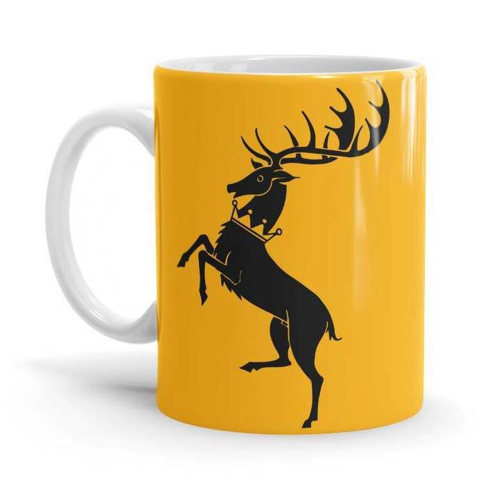 House Baratheon: Ours Is The Fury - Game Of Thrones Official Mug