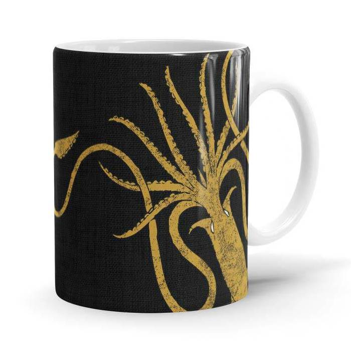Greyjoy Sigil Design - Game Of Thrones Official Mug