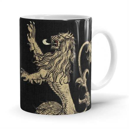Lannister Sigil Design - Game Of Thrones Official Mug