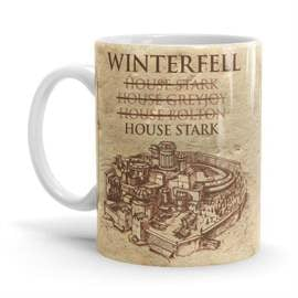 House Of Winterfell - Game Of Thrones Official Mug