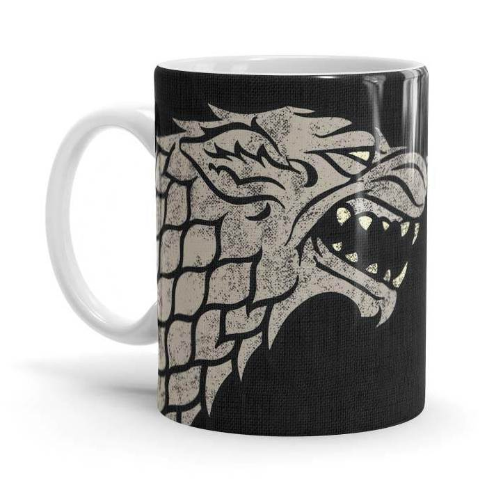 Stark Sigil Design - Game Of Thrones Official Mug