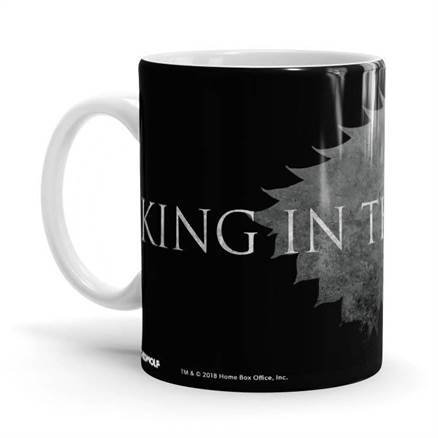 King In The North (Black) - Game Of Thrones Official Mug