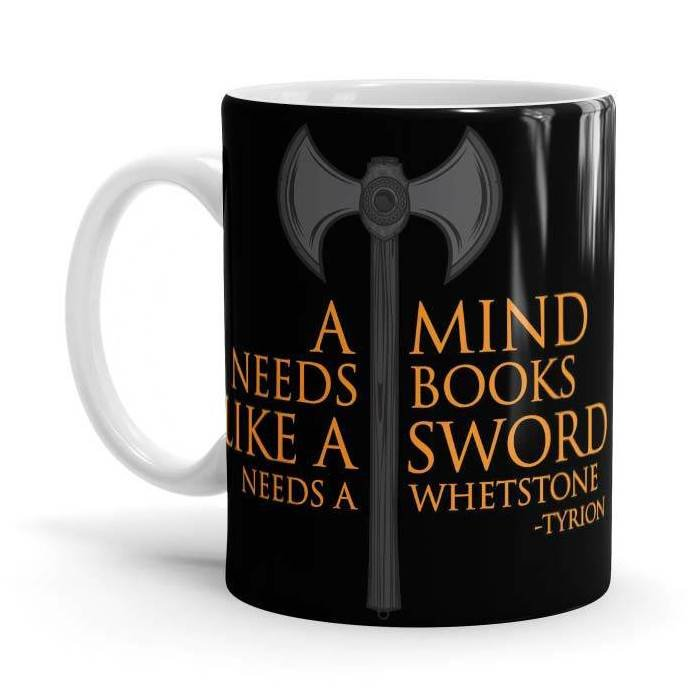 A Mind Needs Books - Game Of Thrones Official Mug