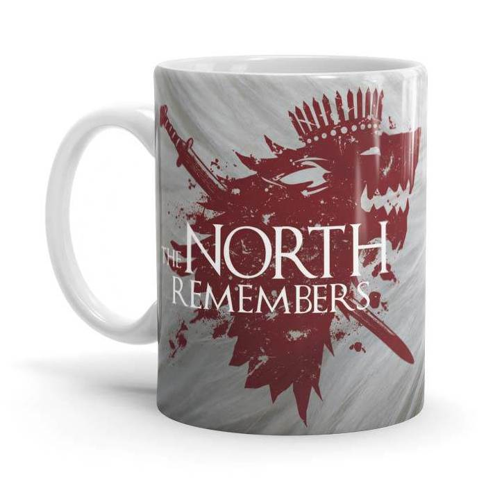 The North Remembers - Game Of Thrones Official Mug