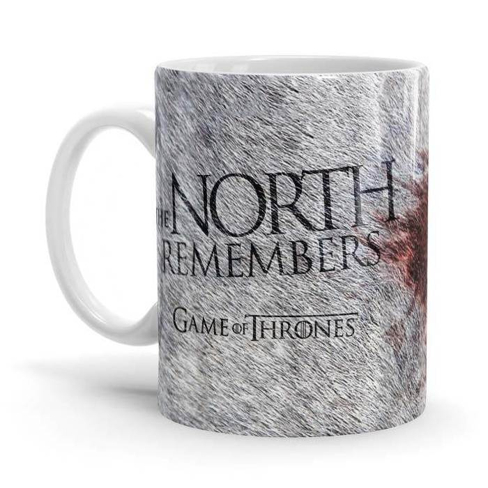 The North Never Forgets - Game Of Thrones Official Mug