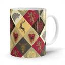 Sigil Pattern - Game Of Thrones Official Mug